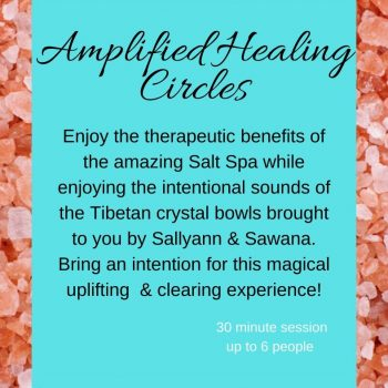 Amplified healing circle artwork